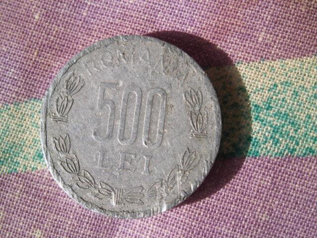 Münze 500 Lei Romania 2000 Rumänien
