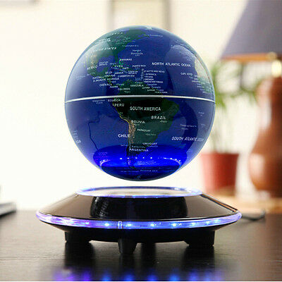 Valentine S Day Gift Magnetic Floating Globe Rotating World Globe Desk Globes 602668776251 Ebay