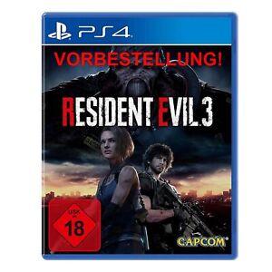 Disponibile-IMMEDIATAMENTE-PLAYSTATION-4-Capcom-Resident-Evil-3-REMAKE-NUOVO-amp-OVP