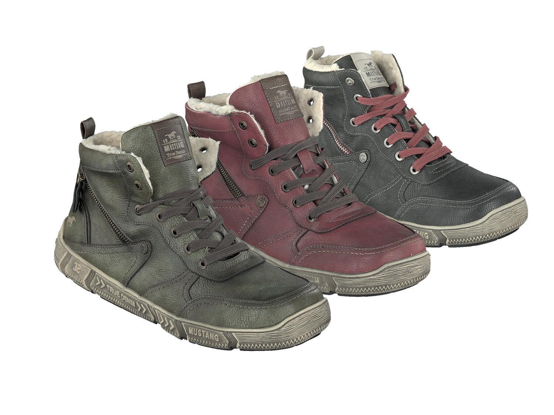 Mustang 4128-601 Schuhe Herren Stiefel Stiefelette Stiefel