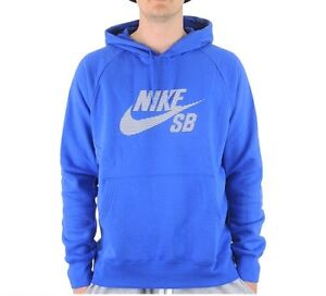 big sale 47897 6ba0c Image is loading Nike-SB-Icon-Stripe-Pullover-Hoodie-Men-039-
