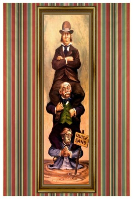 HAUNTED MANSION STRETCHING ROOM ALLIGATOR COLLECTOR POSTER 4 SIZES B2G1 FREE!!