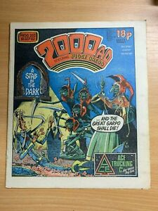 2000AD-PROG-282-18-SEPT-1982-UK-LARGE-PAPER-COMIC-JUDGE-DREDD