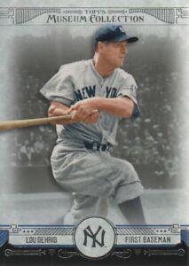 2015-Topps-Museum-Collection-Baseball-60-Lou-Gehrig-New-York-Yankees
