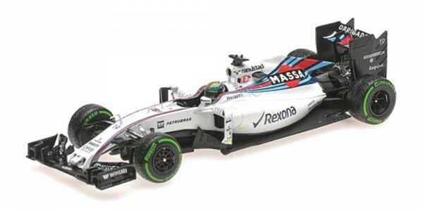 Williams Mercedes FW38 Numéro 19 Brésilien GP Formule 1 2016 (Felipe Massa)