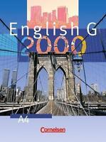English G 2000 Ausgabe A 4 A4 Schülerbuch Gymnasium Cornelsen