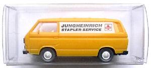 Orange Siemens Mobilfunk Wiking 1:87 H0 VW Bus T3 Modell NEU