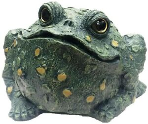 Image Is Loading Toad Frog Garden Statue Outdoor Porch Patio Decor