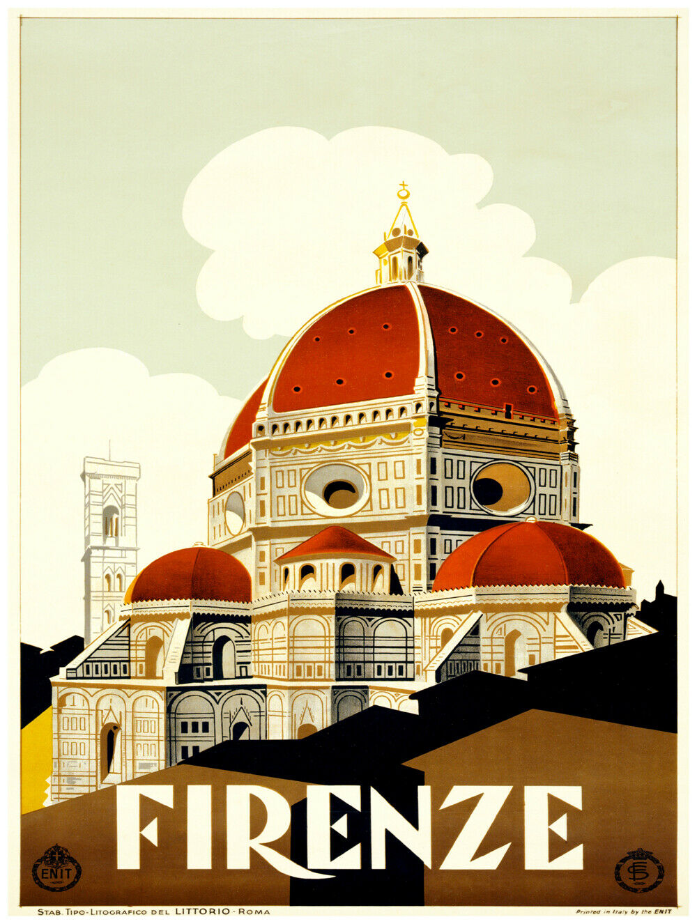 7584.Decoration Poster.Home Room wall art design print.Firenze Florence.