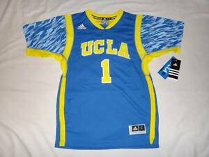 new products a5f78 63e87 Details about NWT Adidas UCLA Bruins March Madness #1 NCAA Basketball  Swingman YOUTH Jersey