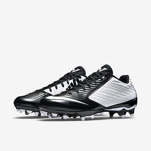 b172b3c64b88 Nike Vapor Speed Low TD Mens Football Cleats - White   Black Size 13 for  sale online