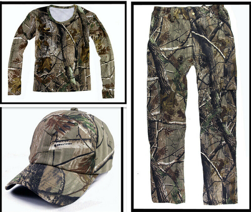 Breathable Cotton Bionic Hunting Camouflage Ghiliie  Suit F Spring Summer Autumn  with 60% off discount