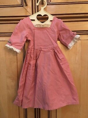 """American Girl 18/"""" Doll Felicity Retired Work Gown Dress ONLY PC"""