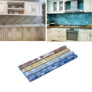 Image Is Loading Kitchen Anti Oil Wall Sticker Tile Floor Bathroom