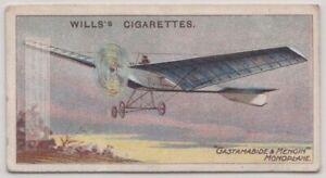 1908-Gastamabide-and-Mengin-Monoplane-Aviation-Pioneer-100-Y-O-Trade-Ad-Card