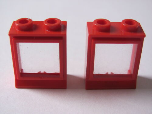 with Fixed Glass 1817 3739 7720 x2 LEGO 7026 @@ Window 1 x 2 x 2