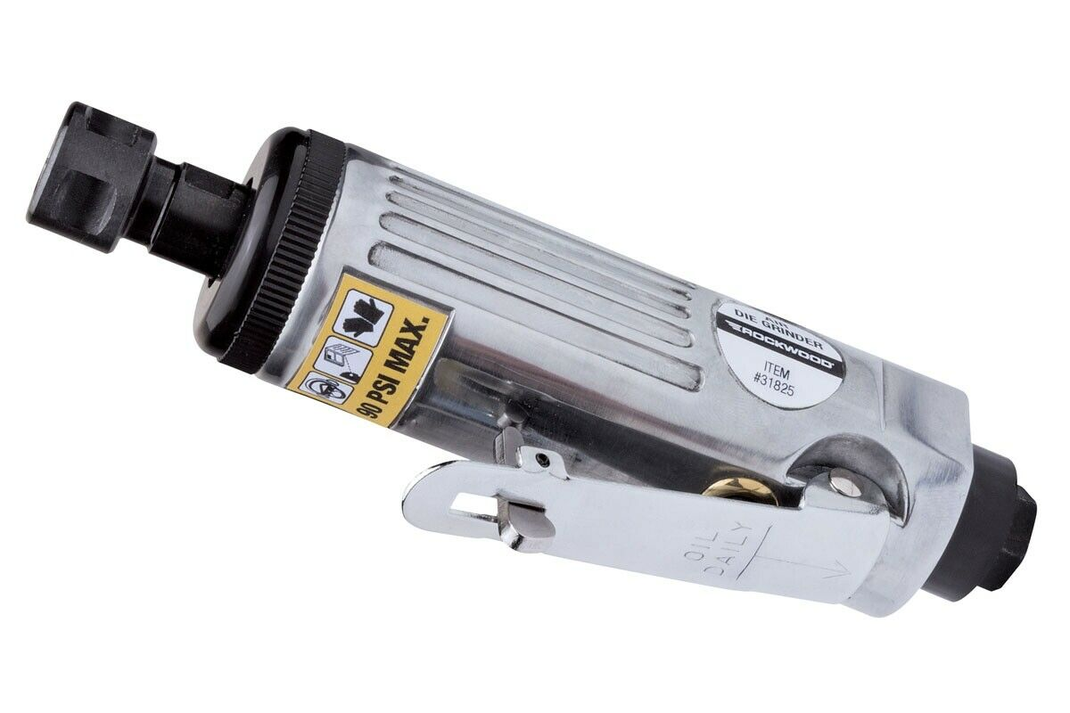 Rockwood Air Die Grinder Pneumatic Compact Straight Mill 22 000 RPM. Buy it now for 27.99