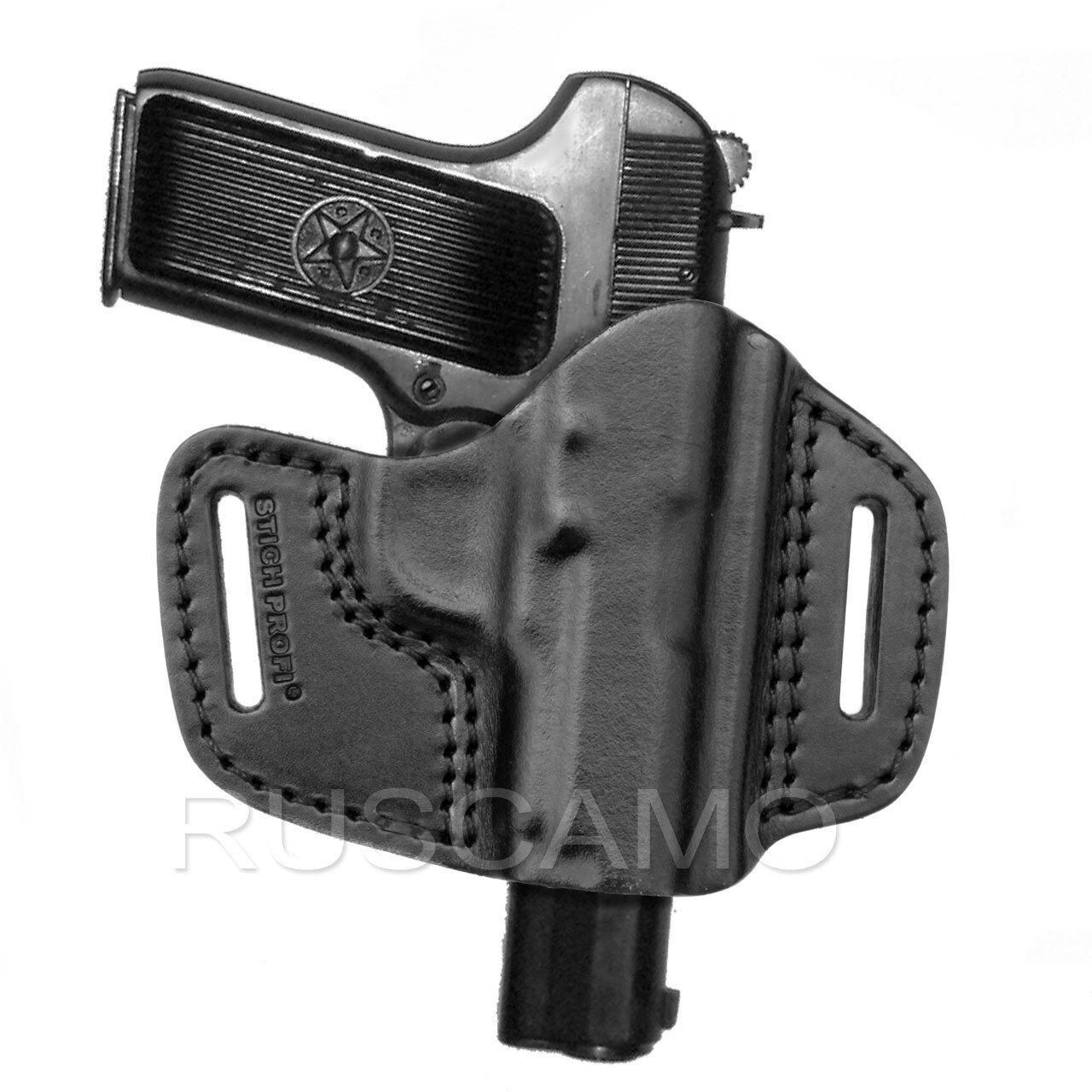 leather Zastava M57 Romanian TTC Left handed shoulder holster for Tokarev