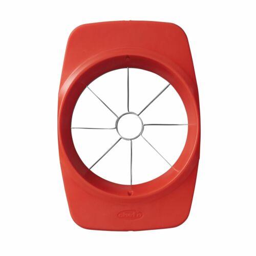 Chef/'n Slicester™ Apple Fruit Prep Tool Slicer Divider Red
