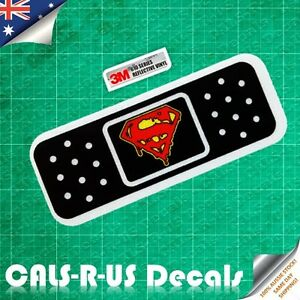 DC-Superman-Band-Aid-3M-Reflective-Car-Vinyl-JDM-Decal-Sticker