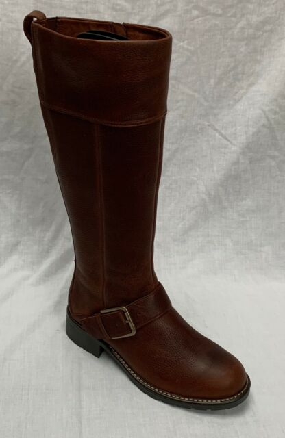 Intención Intensivo Individualidad  BNWOB Clarks Ladies Knee High Leather Kerry Trish BOOTS Chocolate Brown - UK  5.5 for sale   eBay