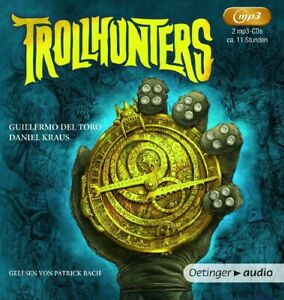 TROLLHUNTERS-DEL-TORO-GUILLERMO-2-MP3-CD-NEW