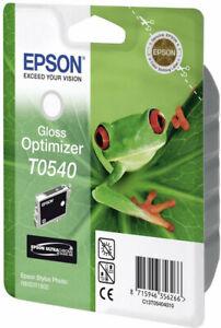 Original-Epson-T0540-Gloss-Optimizer-Frog-Stylus-Photo-R800-R1800-Boxed-03-2016