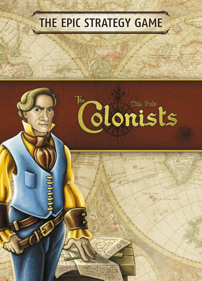 NEW  The Colonists Board Game  Mayfair Games  Factory Sealed