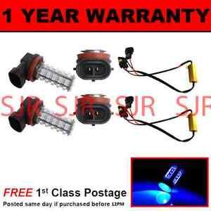2X HB4 9006 WHITE 60 LED FRONT HEADLIGHT HEADLAMP LIGHT BULBS KIT XENON HL500901