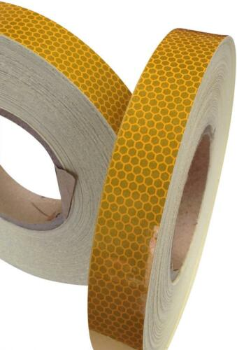 High Intensity Yellow High Quality Reflective Tape Various sizes