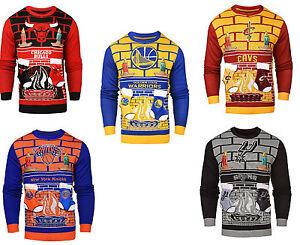 image is loading nba 3d mens ugly christmas sweater - Ugly Christmas Sweater Ebay