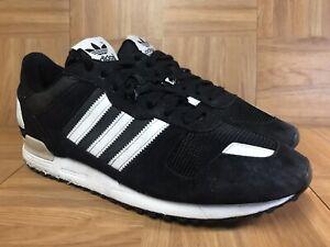 lower price with 9550f a4f7c La foto se está cargando Raro-Adidas-Originals-ZX-700-Negro-Blanco-Talla-