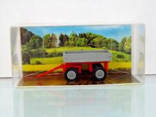 210009504 Busch 1:87 E-Karre Anhänger H0 grau rot