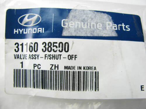 Fuel System Filler Pipe Fuel Shut-off Valve OEM For Hyundai 3116038500