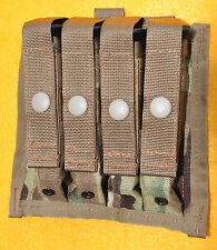 US Army  Multicam Quad Magazine pouch for 4  9mm mags MOLLE