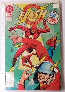 The-Flash-50th-Anniversary-Special-1-Kubert-Cover-DC-VF