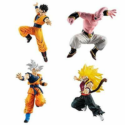 Dragon Ball Super VS Series 15 Complete 4pcs Set Capsule Figure Gashapon BANDAI