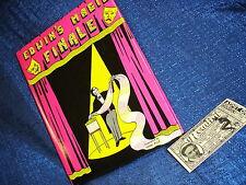 Edwin's Magic Finale Supreme Magic Book HB First Edition DJ Mint Vintage Lot