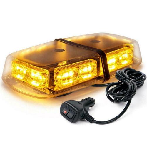 36 LED Flashing Warning Emergency LED Lights Roof Top Amber Yellow Car Light 12V