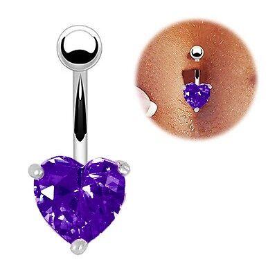 Navel Ring Belly Rhinestone Button Bar Heart Star Body Piercing Jewelry Gold