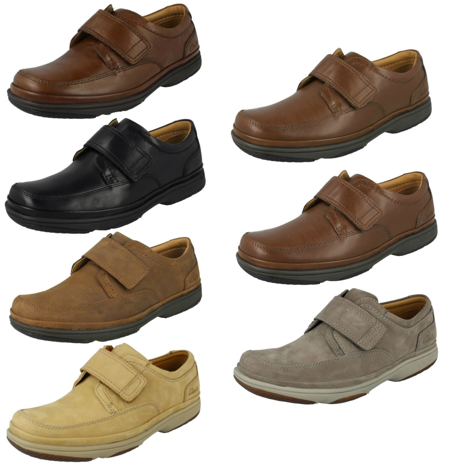Mens Clarks Wide Fit Casual/Smart Shoes *Swift Turn*