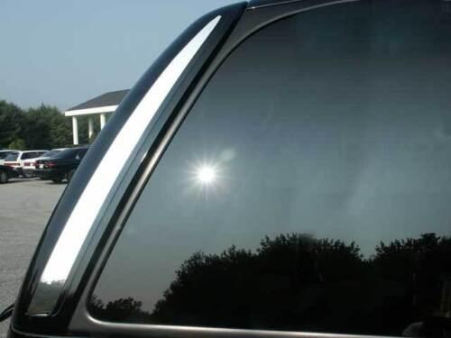 FITS CADILLAC ESCALADE SUV 2002-2006 STAINLESS CHROME REAR WINDOW TRIM