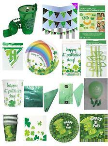 St Patricks Day Celebration Party Irish Themed Novelty Fancy Dress Accessories