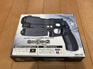 Sony-PlayStation2-GUN-Controller-GUNCON2-namco-with-BOX-and-Manual