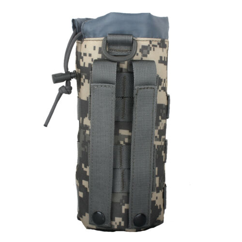 Details about  /Tactical Molle Water Bottle Pouch Holder Carrier Kettle Bag Nylon Camping Hiking