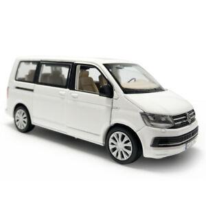1-32-T6-Multivan-MPV-Metall-Die-Cast-Modellauto-Spielzeug-Model-Sammlung-Weiss