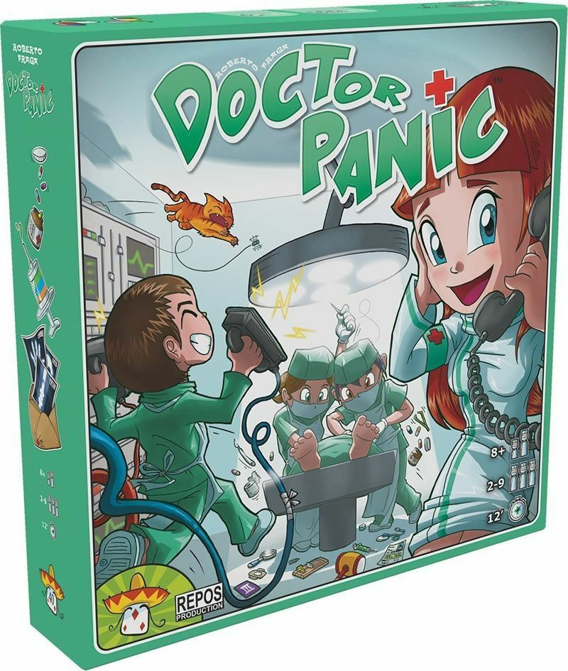 DOCTOR PANIC BOARD GAME 2 TO 9 PLAYERS