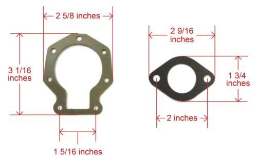 J15RLECR J15RECR Carburetor Repair Kit fits 1998 SE15BAECA OMC Johnson 15HP