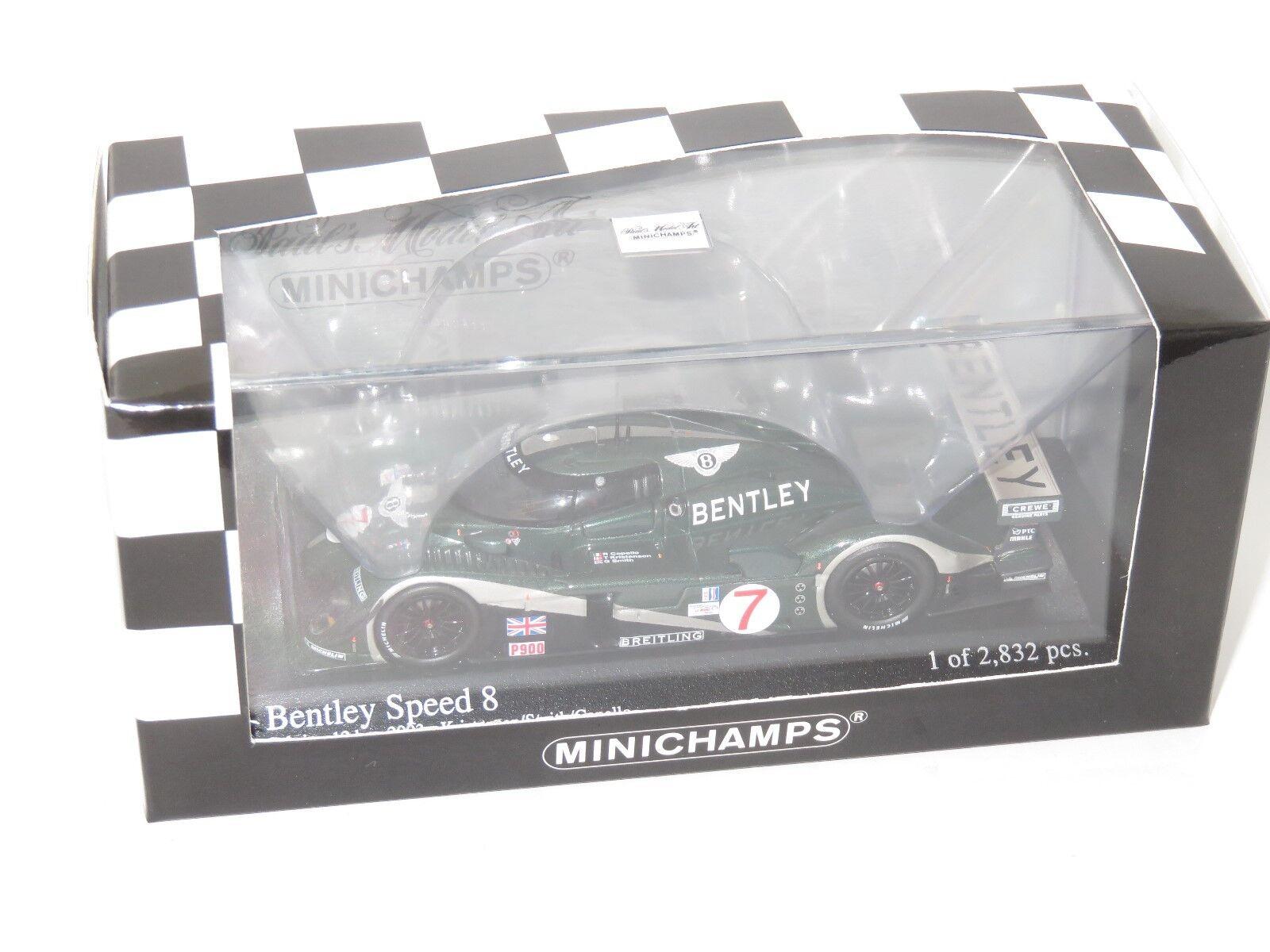 1 43 Bentley  Speed 8  Sebbague 12 Hrs 2003  7   Kristensen Smith Capello  70% de réduction