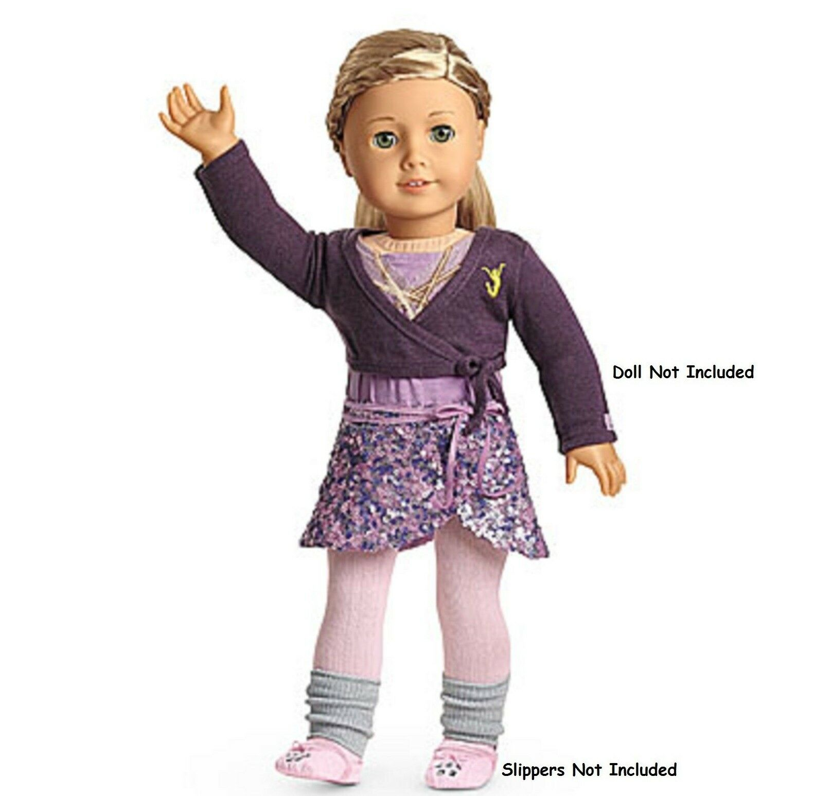 American Girl Isabelle Mix + Match Outfit  1 Gonna Felpa Body Scaldamuscoli